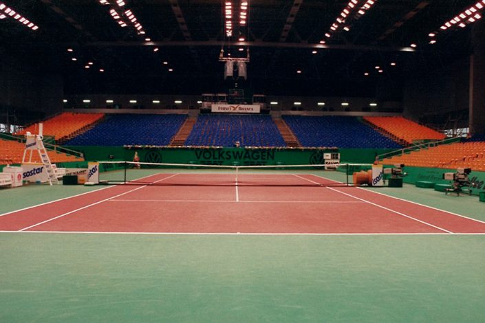Tennis Tribüne