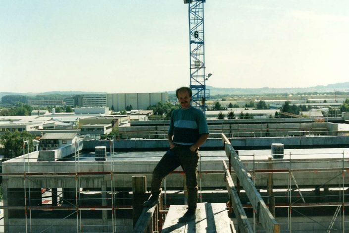 Gerüstbau Dach